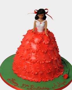 Doll Cake 6524