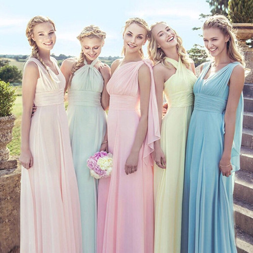 bridesmaid dresses twist and wrap infinity dress