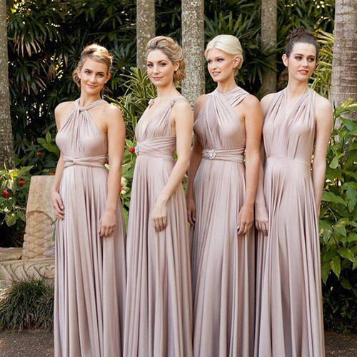 bridesmaid dresses twist and wrap infinity