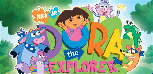 Dora the explorer translation localizati