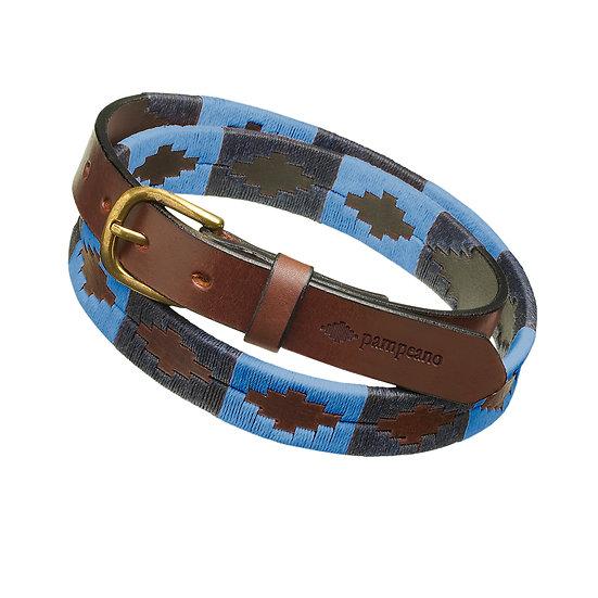 Pampeano Skinny Polo Belt - Azules