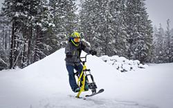 SkiByk Action Photo