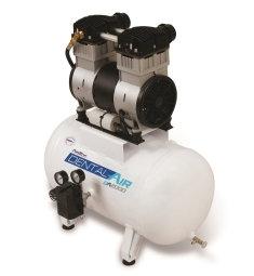 Compressor de Ar Dental Air DA2000-40VF - Airzap