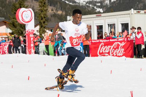 Special Olympics World Winter Games 2017 für Coca-Cola