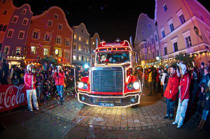 Coca-Cola Weihnachtstruck-Tour