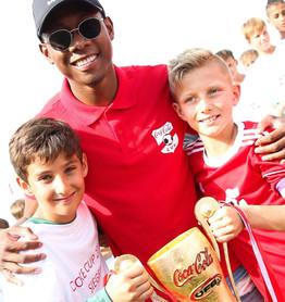 Meet & Greet mit David Alaba für Coca-Cola