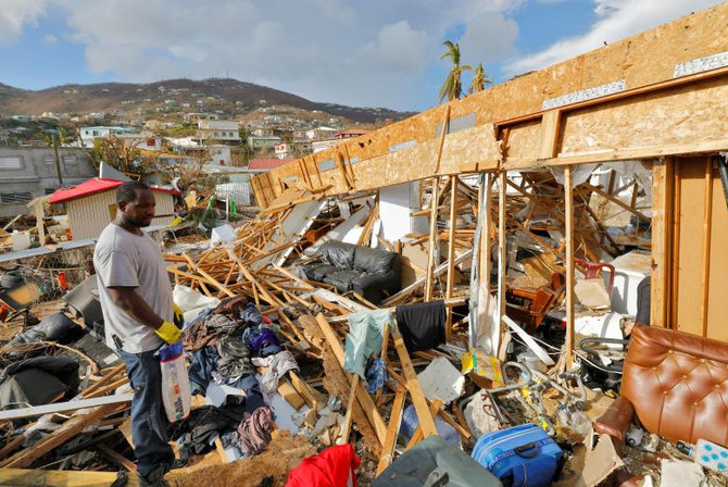 The US Virgin Islands, devastated by Hurricane Irma, are in serious need of aid