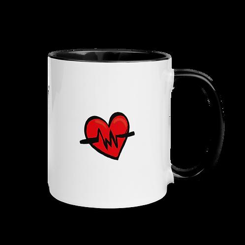 HeartBeat Mug with Color Inside