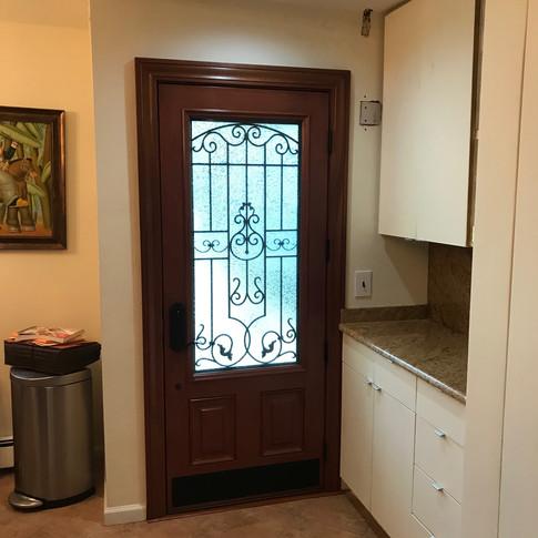 Embarq entry door installed