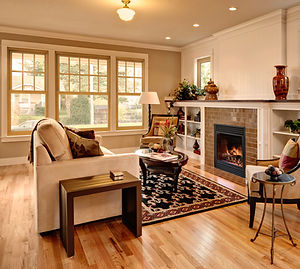 Aeris Double Hung Windows - Living Room.