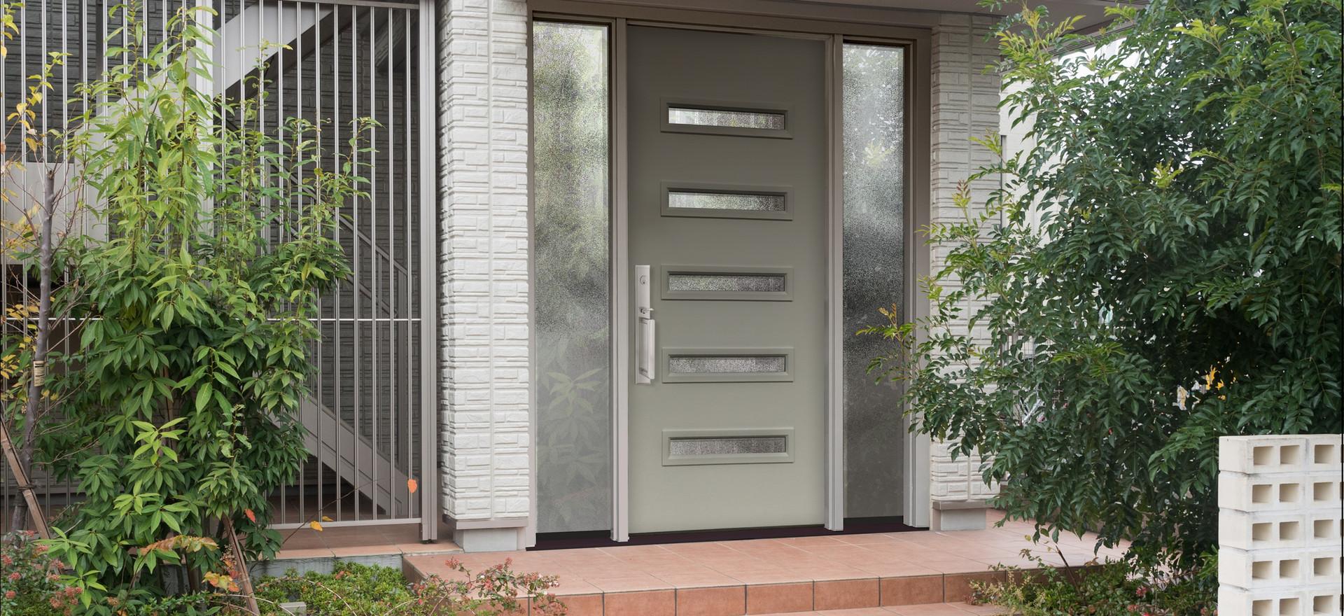 Modern Front Door Replacement