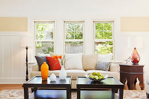 Aspect Double Hung Windows - Living Room