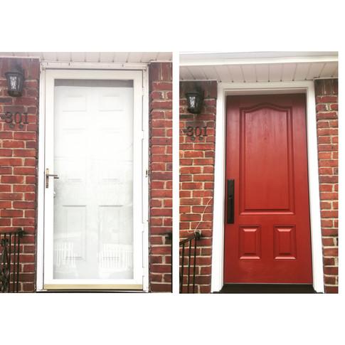 Embarq front door installed