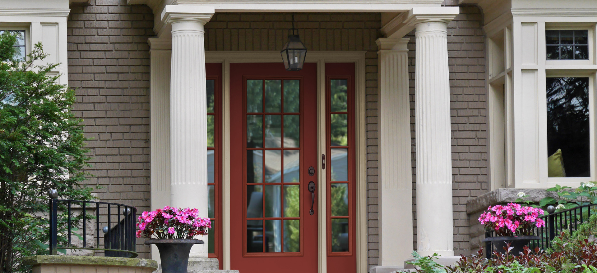 Entry Door with Sidelites Installation