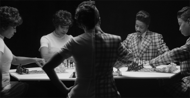 Lorna Simpson Chess