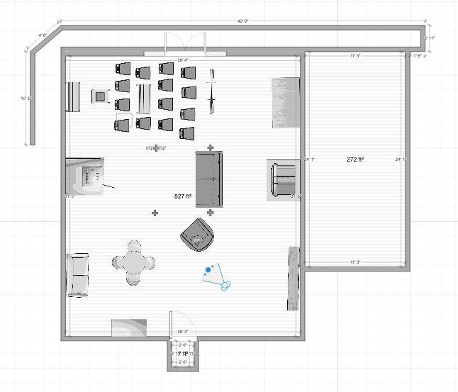 speakeasy layout