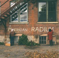 American Radium wall signage