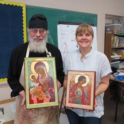 Religious Icons - Prosopon School