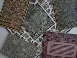 Various art tiles