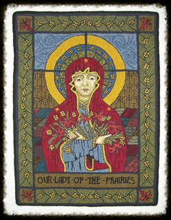 Our Lady of the Prairies design