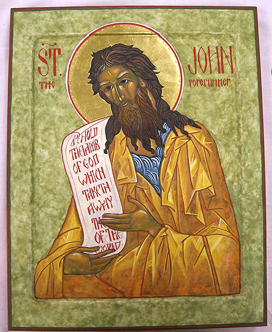 St. John the Baptist Icon (2010)