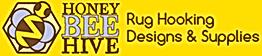 Honey Bee Hive Rug Hooking