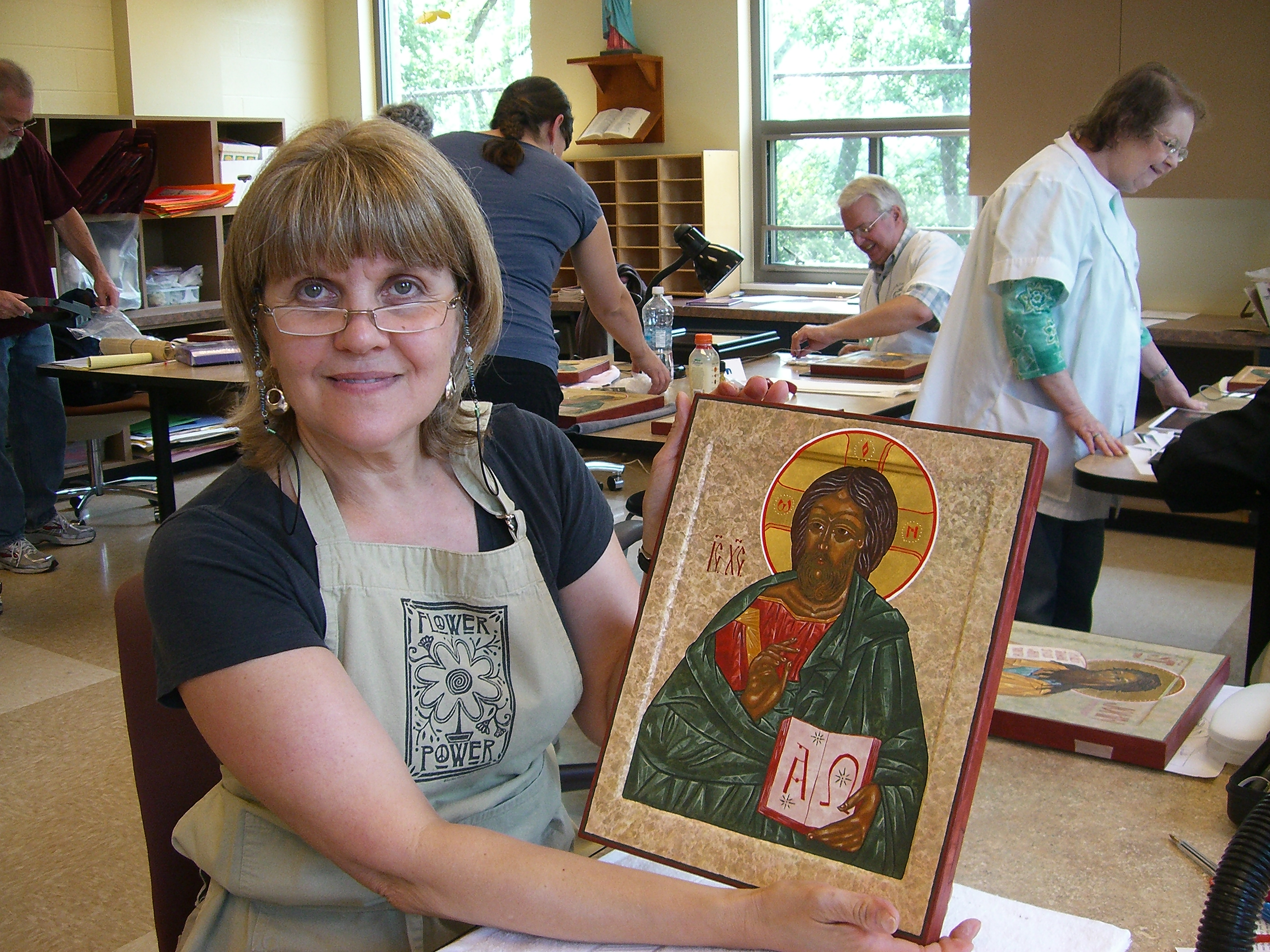 Christ the Teacher Icon (2012)