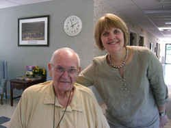 Father Thomas & Louise in 2010.