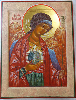 Archangel Michael Icon (2013)