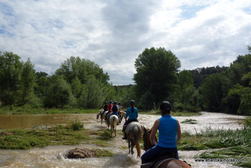 Конные туры в Испании, Каталония