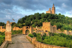 The old capital of Bulgaria - Tsarevets