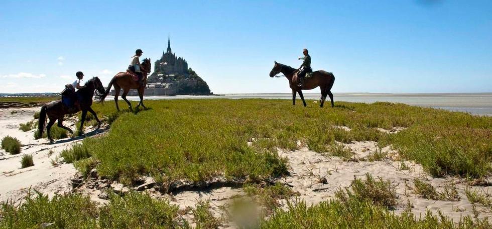 Путешествие к Мон-Сен-Мишель