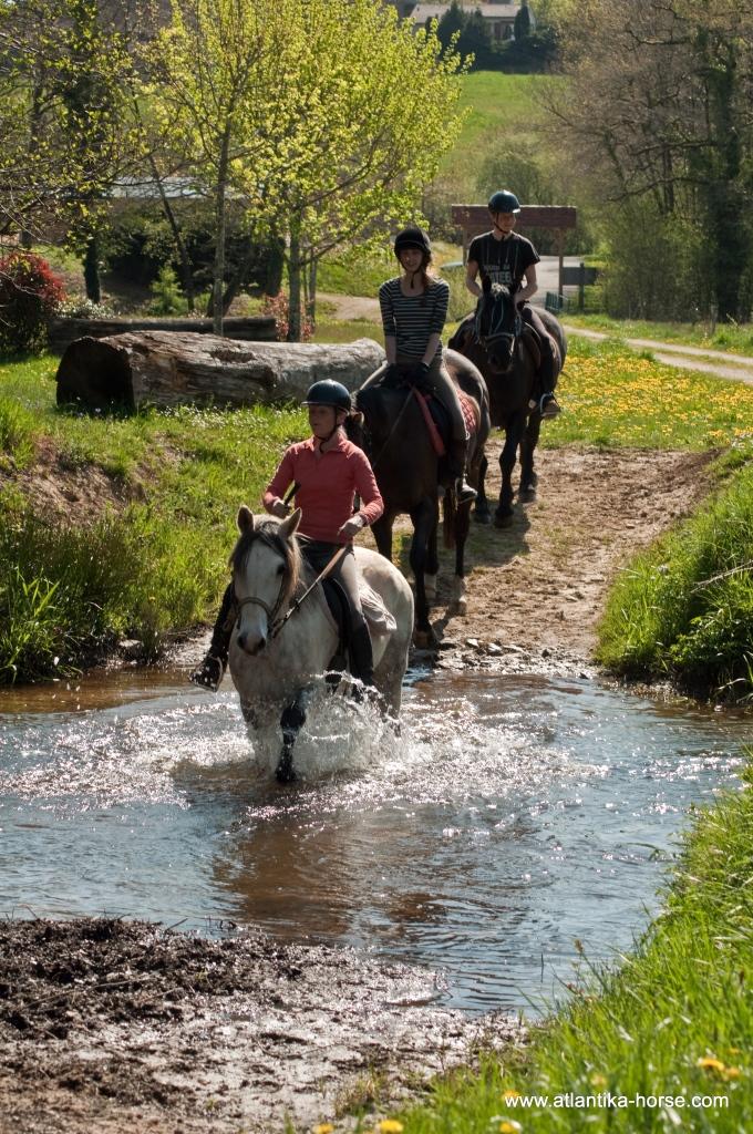 Конные туры во Франции. Перигор