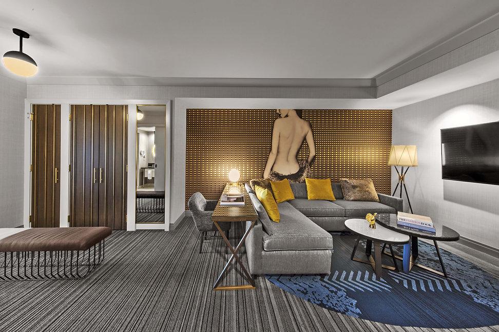 Guest room remodel, The Cosmopolitan of Las Vegas