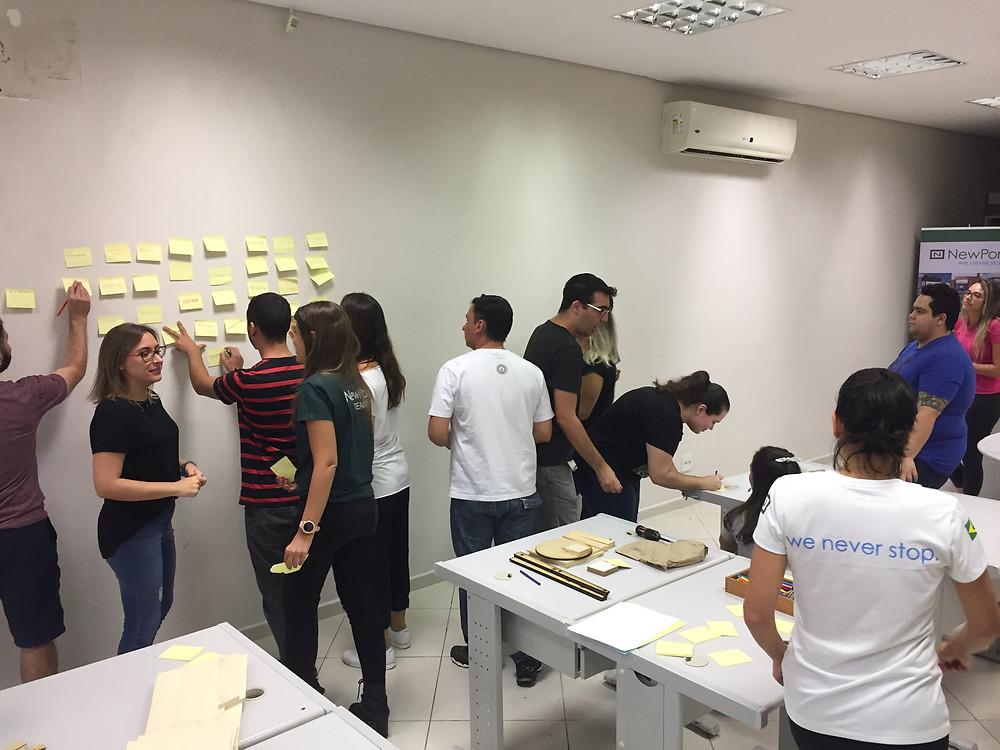 Etapa de empatia em design thinking in company