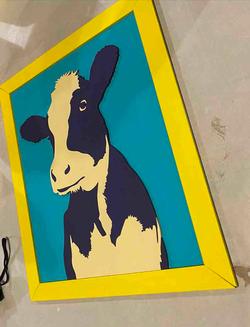 Vaca Vegana 3D paint DIY