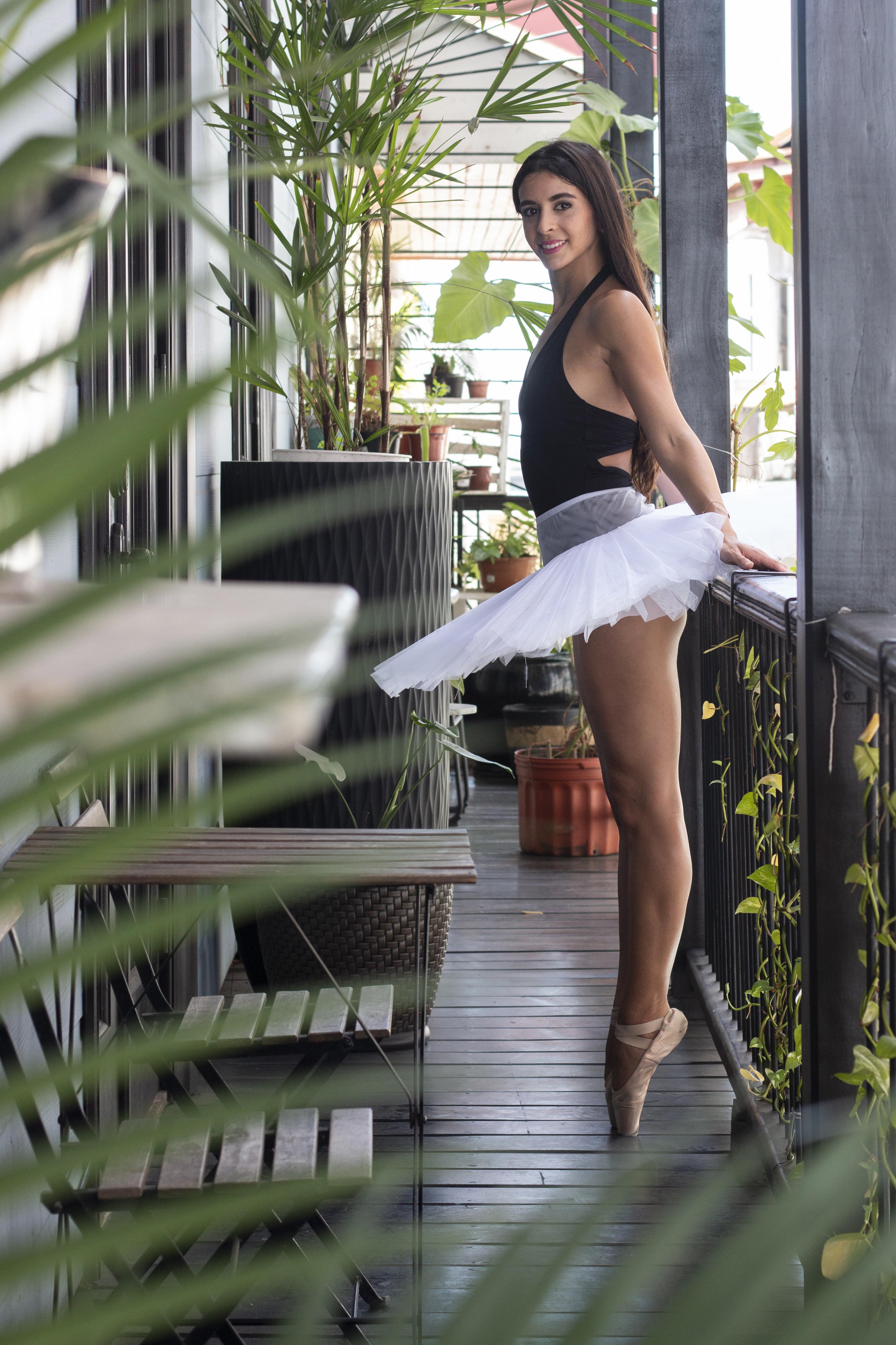 Ballet,Panamá, sesión de foto