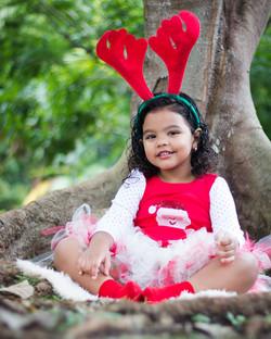 Navidad sesion fotografica ñiñas