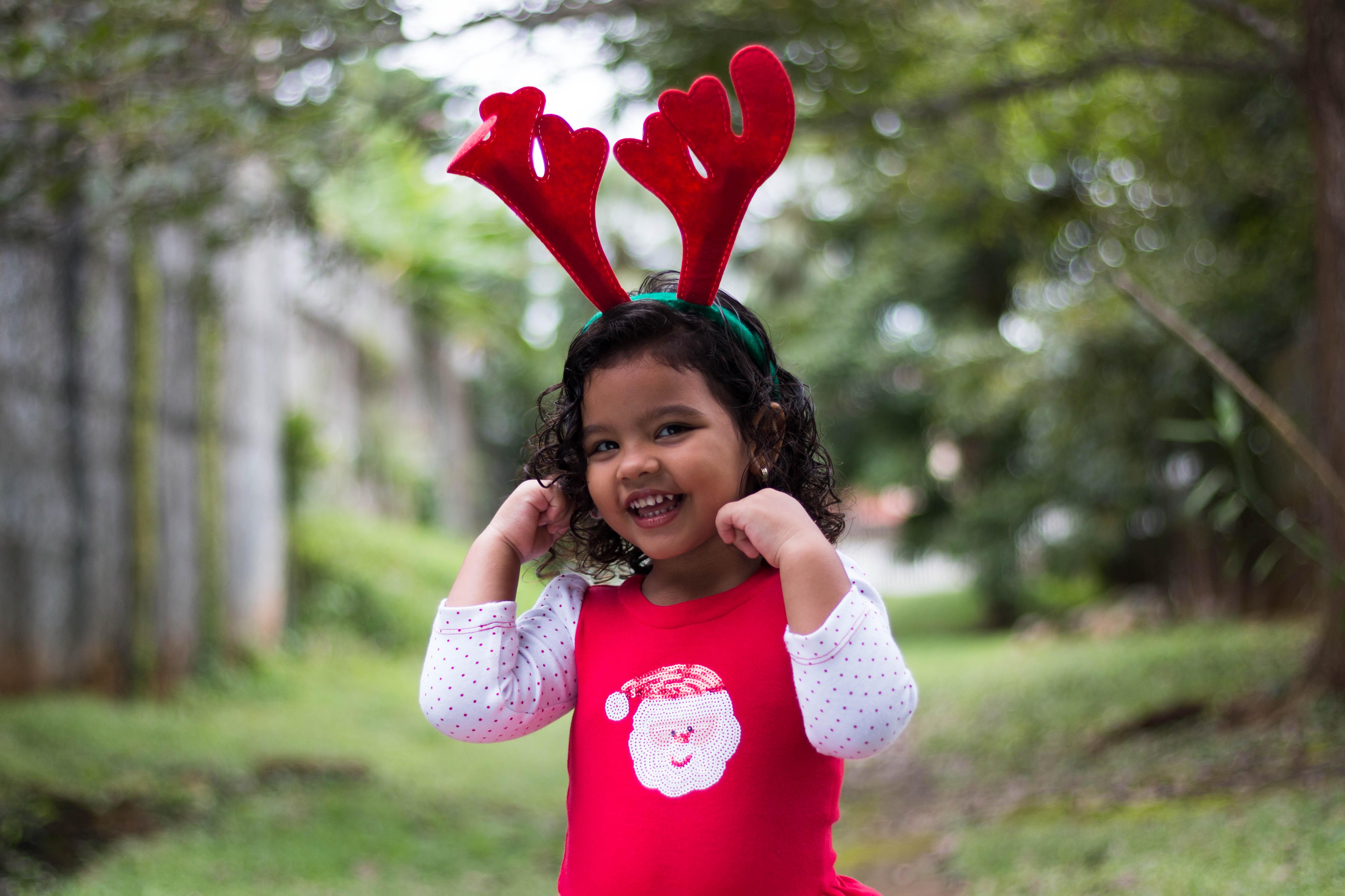 Navidad fotografía  niñas