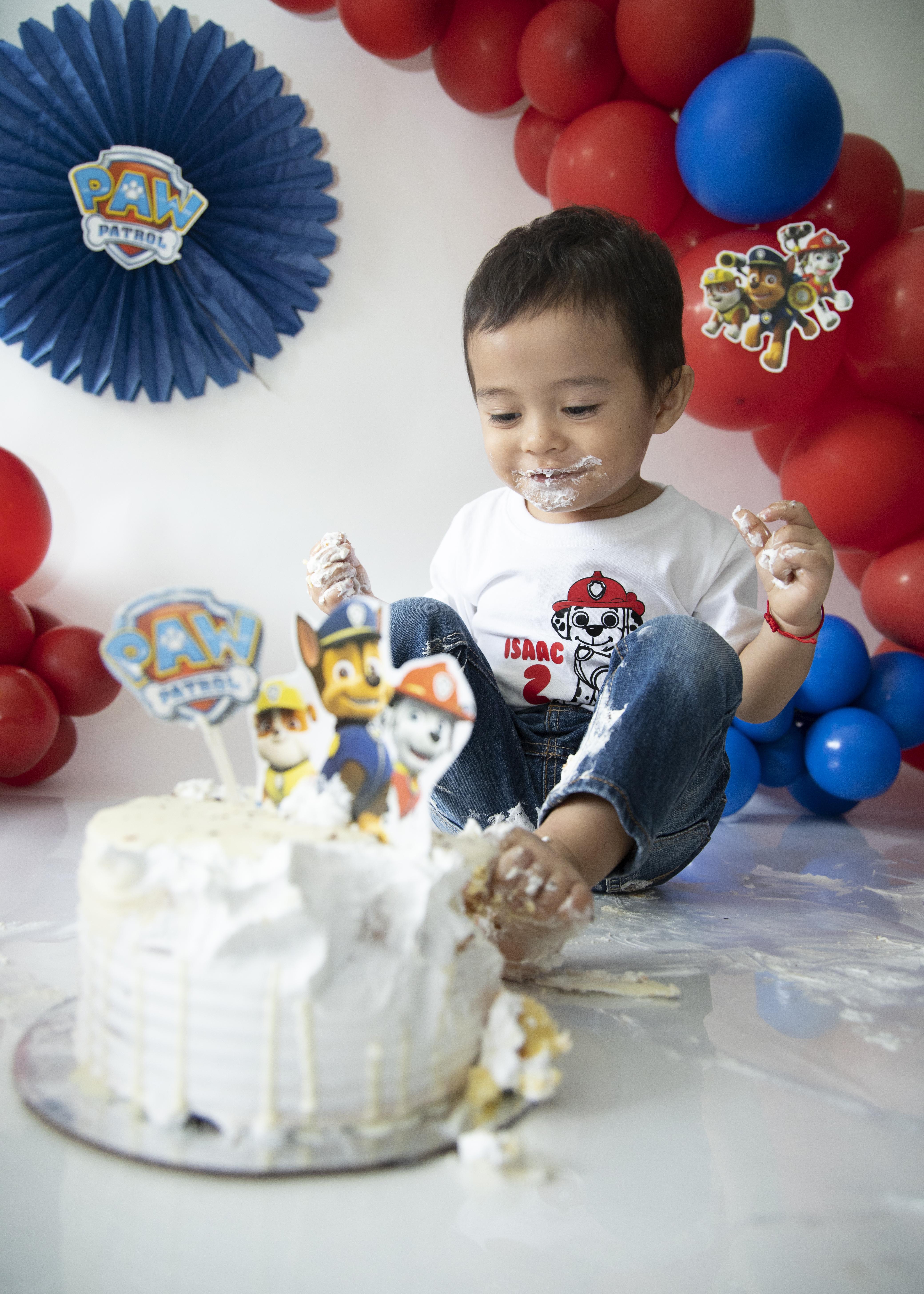 Primer año, smash cake