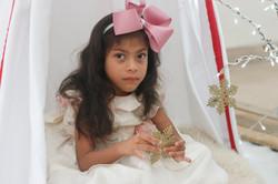 navidad, foto, sesión, niños