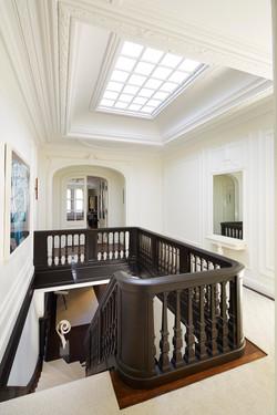 Escalier à l'étage