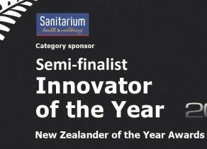 Rackstuds inventor semi-finalist in Sanitarium Innovator of the Year awards