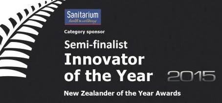 Rackstuds inventor semi-finalist in Sanitarium Innovator of the Year awards