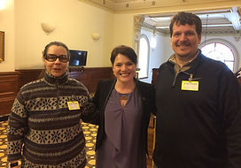 Dépôt de la pétition de la fondation Nancy Leblond à l'Assemblée Nationale du Québec