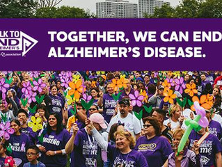 Alzheimer's Walk - 2017