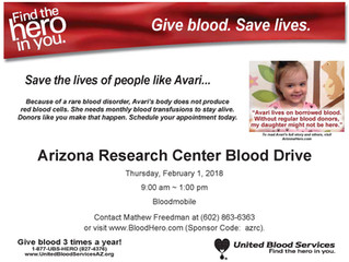 Blood Drive at AZRC