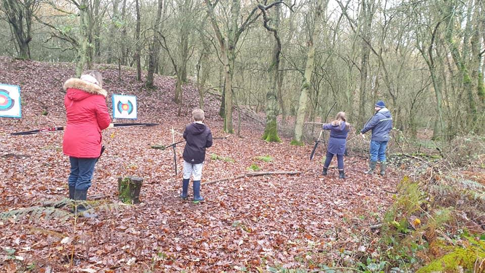 Family Archery Fun session