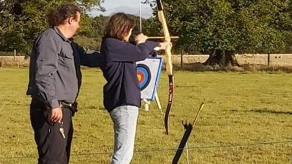 Hamford View Tea Room archery fun  Sat 15th May (Afternoon  session)