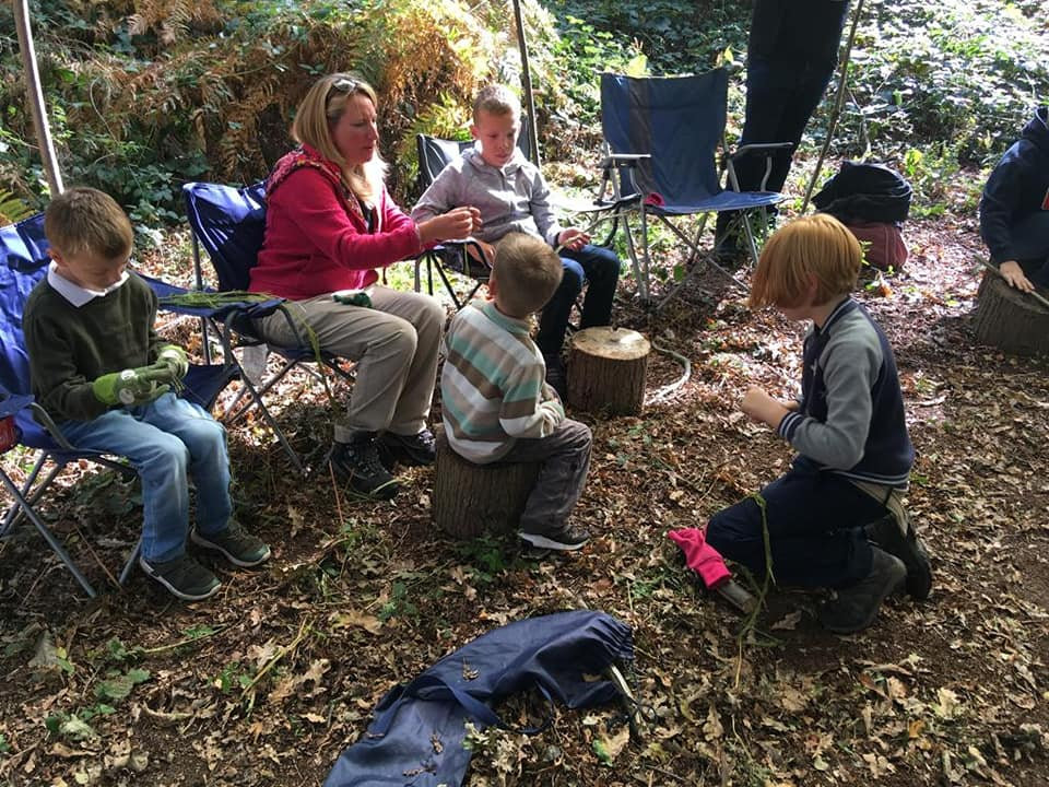 Family bushcraft fun